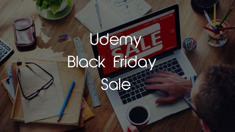 Udemy black friday sale and discount coupon