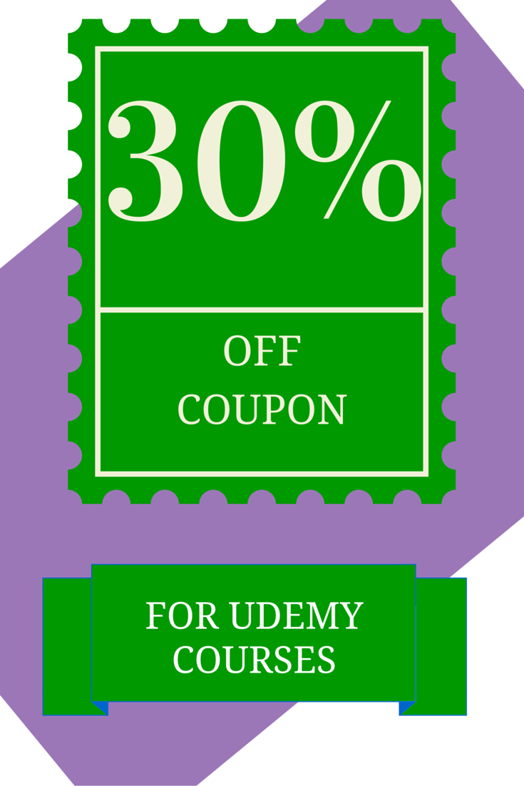 30% off udemy coupon