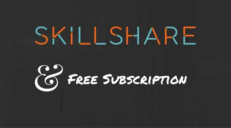 skillshare review and free subsription