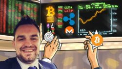 What crypto currency is microsoft investing in