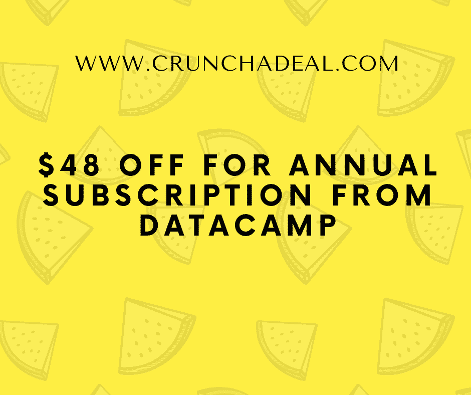 Datacamp coupon