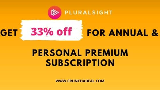pluralsight coupon