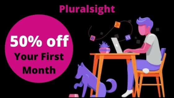 pluralsight 50% off