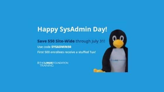 sysadmin coupon