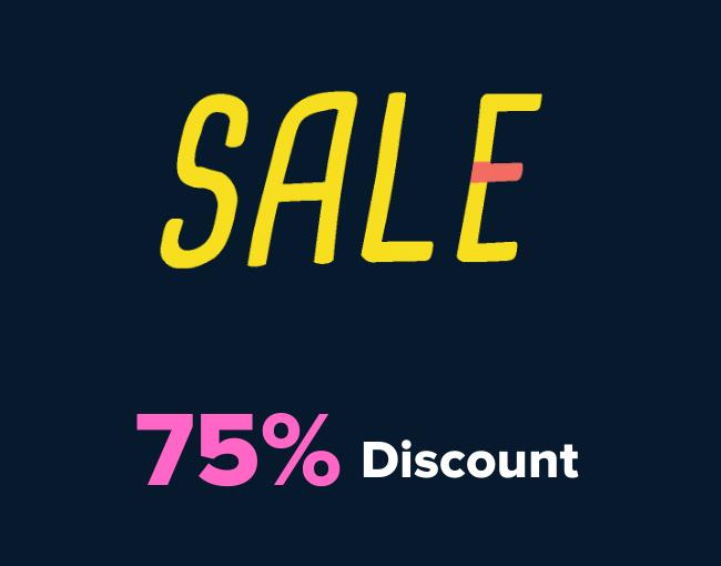 75% off Udacity Discount