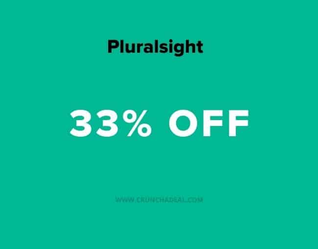 pluralsight coupon