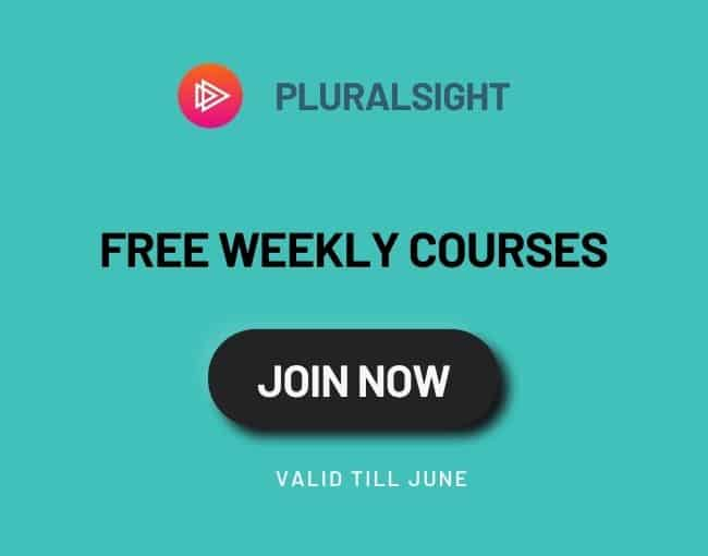 free weekly courses