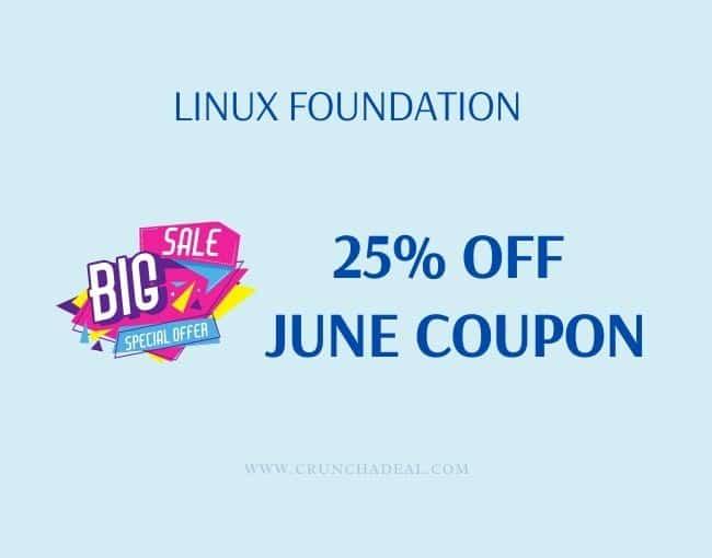 linux foundation june coupon